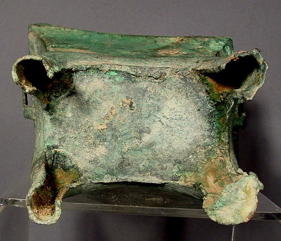 SOLD Antique Chinese Bronze Chou Dynasty Censer