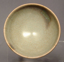 Antique Chinese Ceramic Junyao Bowl, Song Dynasty
