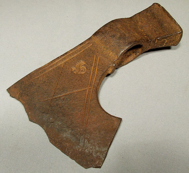 Antique 17th century European Axe