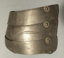 SOLD Antique Armour Armor Spaulder 16th century