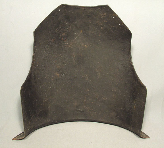 Antique North European Armor Backplate 17th century