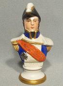 Porcelain Figurine Napoleonic Marshal Lannes