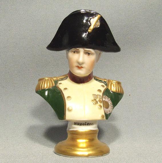 Dresden Porcelain Bust of Napoleon
