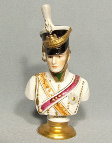 Napoleon Marshal Junot in Napoleonic Hussar Uniform