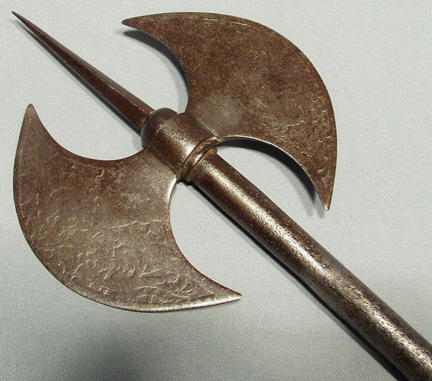 Antique Indo Persian Dervish's Axe, 18th - 19th century