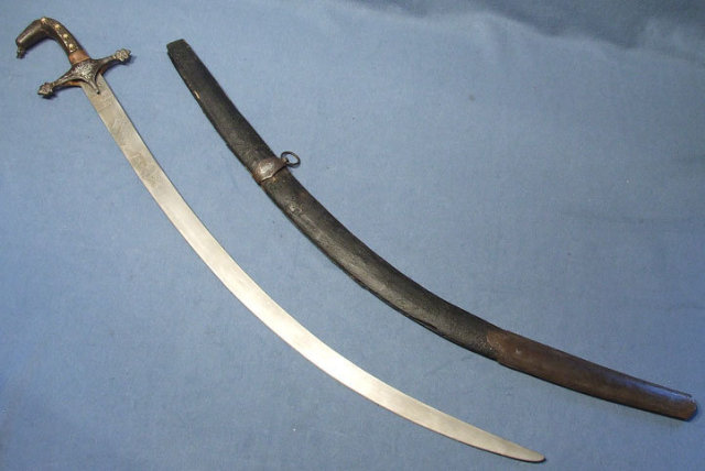 Antique Russian Caucasian Sword Islamic Shamshir