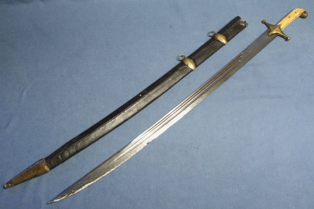 Antique 18th century Russian Caucasian Sword Palsh  Shamshir