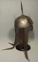 Antique 18th century Indo Persian Helmet Islamic Kulah Khud