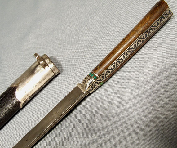 Antique Indo Persian Dagger Bichaq Islamic Bukhara