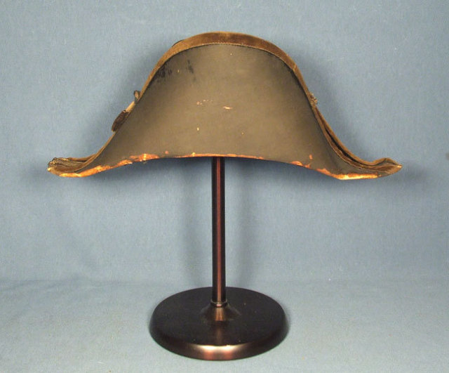 Antique Imperial Russian Navy officer Bicorn - Cocked Hat