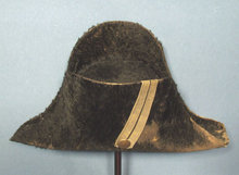 Antique 19th century French Napoleonic Chapeau Hat