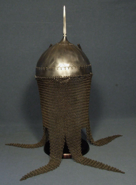 Antique 17th century Indo Persian Helmet Kulah Khud