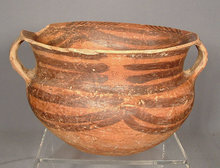 Antique Chinese Neolithic Machang Pottery Pot