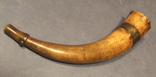 Antique 18th century American Revolutionary War powder horn