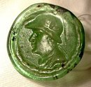 Ancient Bactrian Glass Coin of King Eukratides I