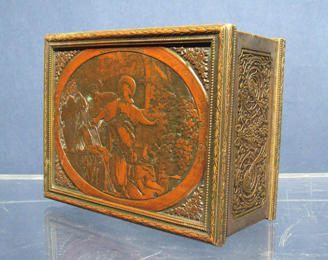 Antique 19th century Box Engraving after Jean Honore Fragonard