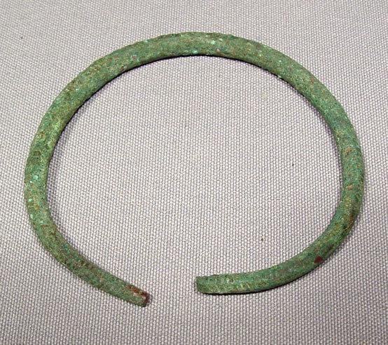 Celtic Bronze Bangle Hallstatt Culture (circa 800 to 475 BC)