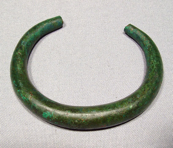 Celtic Warrior Bronze Armlet Torque Hallstatt Culture [5]