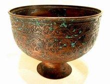 13th Century Islamic Bronze Bowl