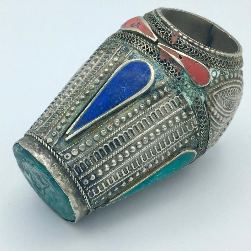 Antique Ottoman Arabic Islamic Massive Wax Seal Signet Stamp Ring