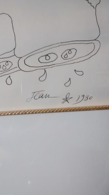 Mercury by Jean Cocteau  an Original Pen & Ink