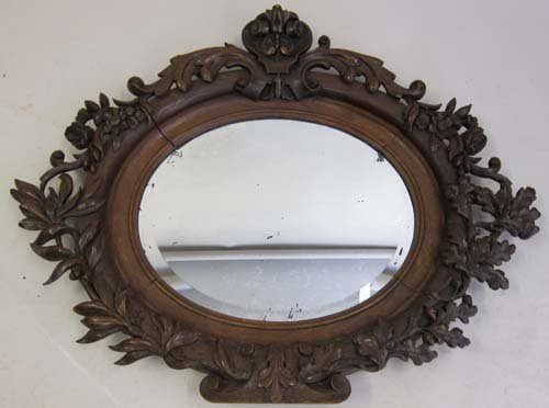 Exquisitely Carved Mirror