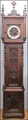 Gothic Grandfather Clock