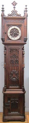 Gothic Grandfather Clock
