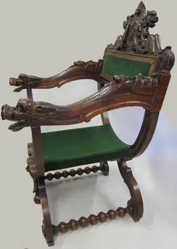 Renaissance Chairs (Fauteuils Dagobert)
