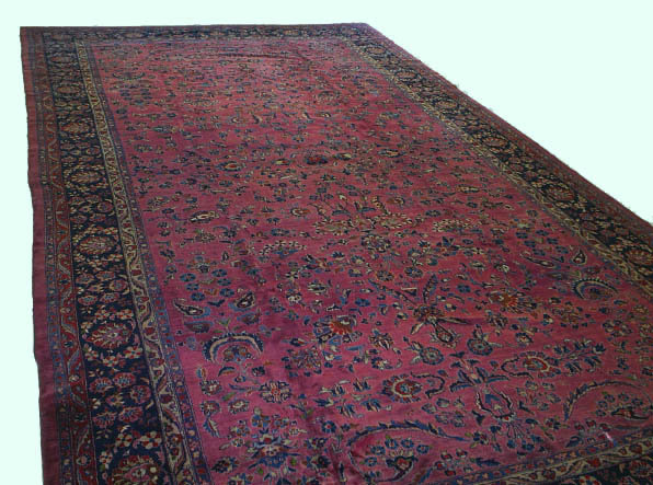 Antique Persian Sarouk Sarough Rug