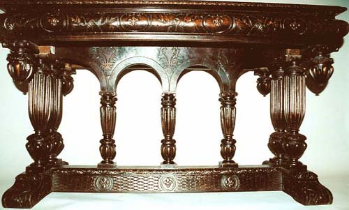 Renaissance Library Table