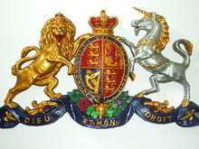 Royal English Coat-of-Arms