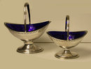 Hester Bateman pair of Georgian Silver Baskets, London 1788