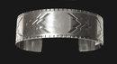Rare early mark Georg Jensen cuff bracelet bangle, Harald Nielsen 1933