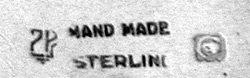 Petersen Sterling Cake Slice, Montreal C.1940