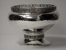 A.E.Jones Arts and Crafts Silver hammered design large Bowl, Birmingham 1920
