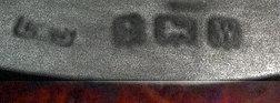 Match Striker Vesta Silver Serpentine Birmingham 1921, Levi & Salamon