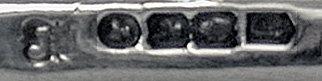 Irish Silver Crumb Scoop, Dublin 1855, John Smyth.