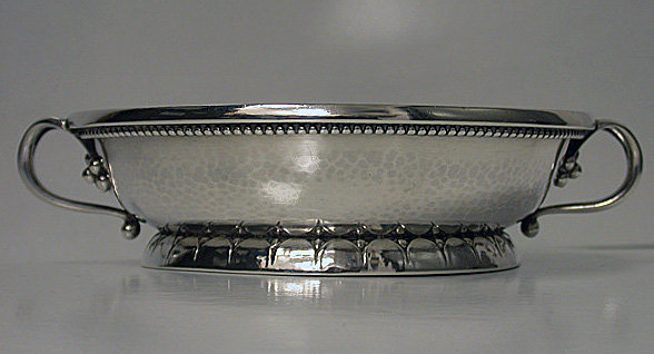 Georg Jensen rare and early two handled Bowl, C.1927.