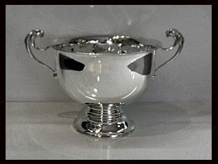 Charles Boyton English Silver Trophy Bowl, London 1912