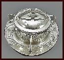 Art Nouveau Jugendstil Secessionist pewter Dish, Gerhardi, Germany C.1902