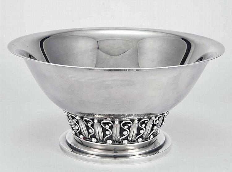Evald Nielsen Sterling Silver Bowl, Denmark C.1930