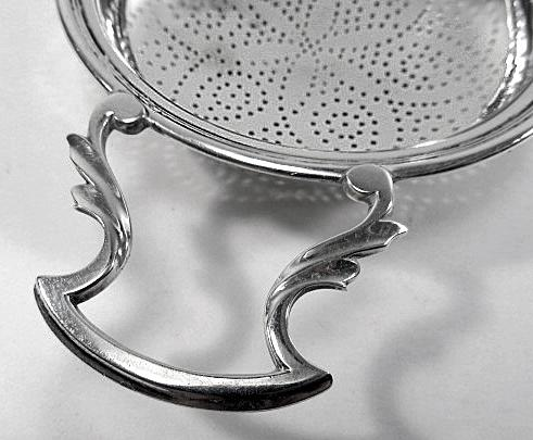 George 111 Silver Strainer, London 1774, William Plummer.