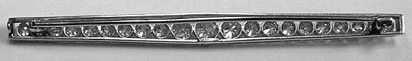 Marcus & Co Art Deco  Diamond Brooch