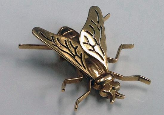 Boucheron French Fly Brooch