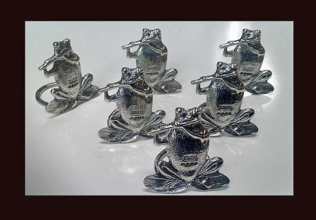 Frog Place Menu Card Holders