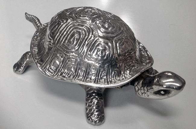 Rare Tortoise Turtle Bell Chester 1912
