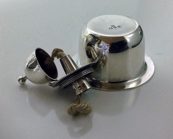 Hukin & Heath English Silver Georgian style Kettle on stand with burner, London 1895 42.75 oz!