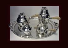 William deMatteo American Sterling Tea & Coffee Service, C.1940