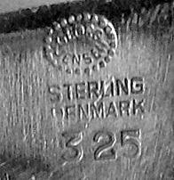 Georg Jensen Henning Koppel Sterling Brooch